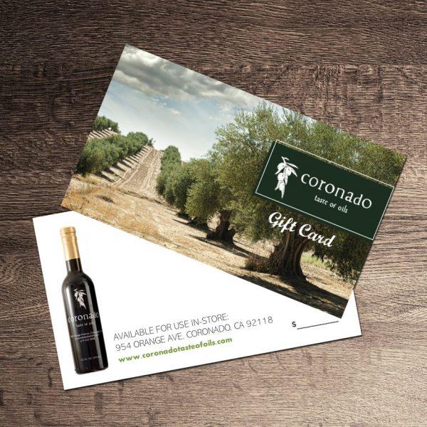 Coronado Taste of Oils Gift Certificate