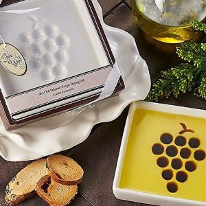 Coronado Taste of Oils Vineyard Select Olive Oil & Vinegar Dipping Plate