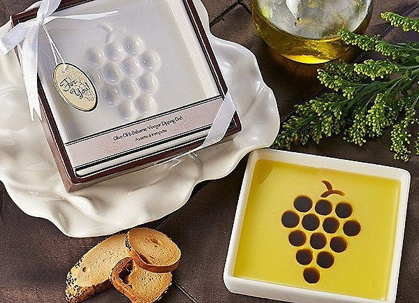 Coronado Taste of Oils Vineyard Select Olive Oil & Vinegar Dipping Plate