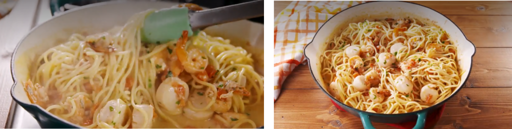 Mother's Day Shrimp & Scallop Pasta