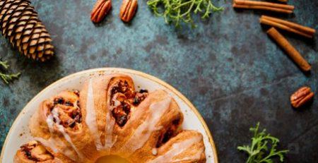 Mandarin Holiday Tea Cake