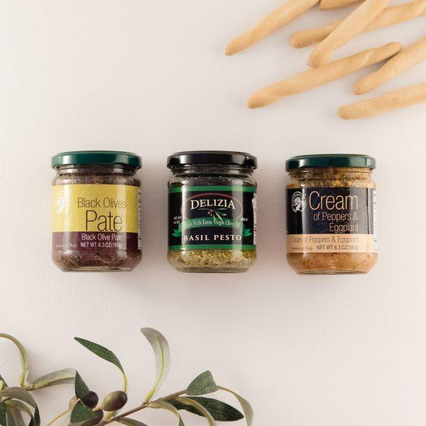 Tapenade Trio Coronado Taste of Oils Gift Set