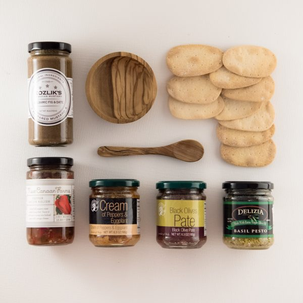 Tapenades Gift Box for Coronado Taste of Oils