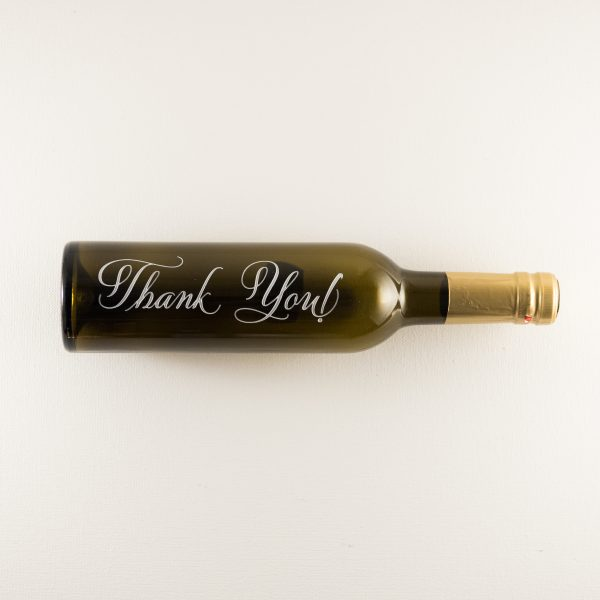 Thank You Coronado Taste of Oils Bottle