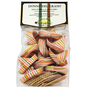 ITALIAN DONNE DEL GRANO ORGANIC MEXICAN HATS SOMBRERONI COLORED PASTA 8.8OZ