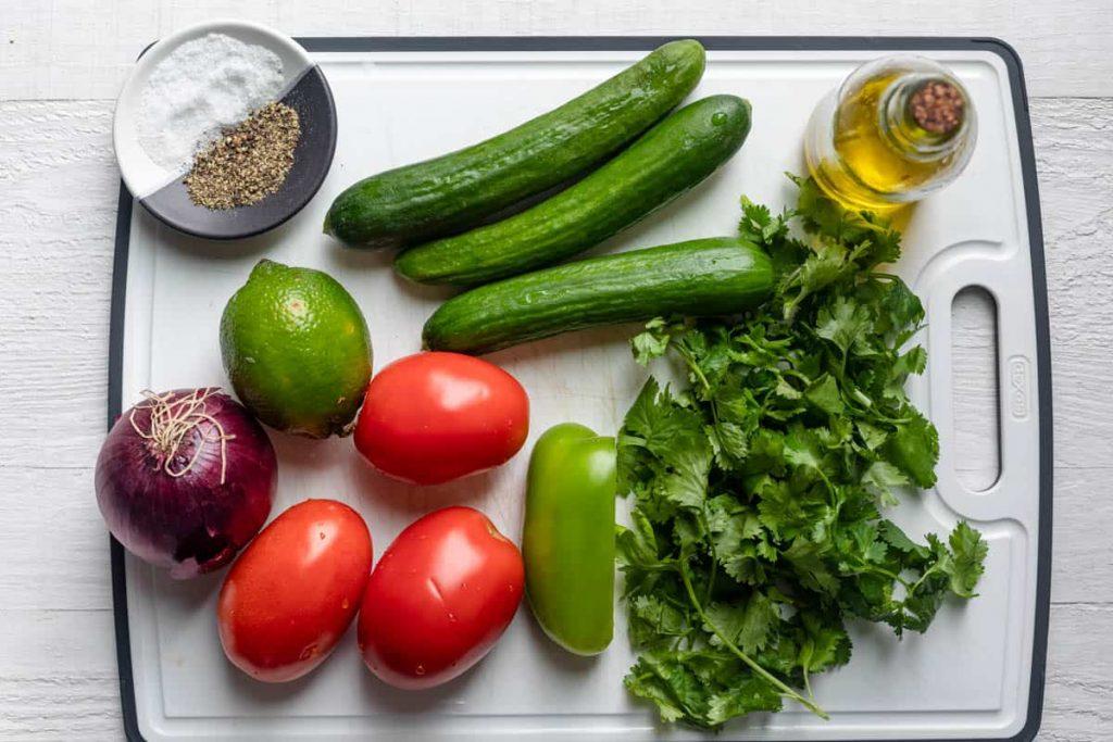 Shirazi-Salad-Olive Oil Recipe