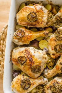Balsamic Jalapeno Roasted Chicken and Potatoes Balsamic Recipe